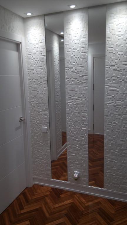 portfolio 19/31  - Ampliación salón. luminaria, luces led, pladur, acuchillado y barnizado parquet, alicatado