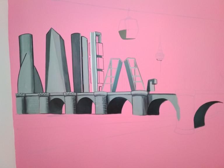 portfolio 14/31  - Pintura mural Esmalte al agua