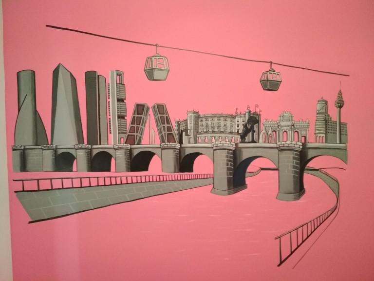 portfolio 16/31  - Pintura mural esmalte al agua