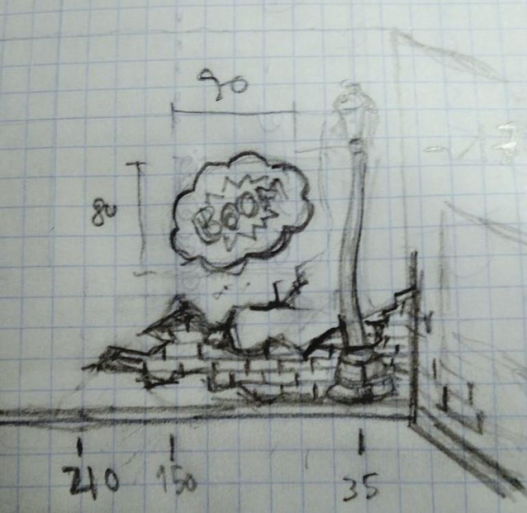 portfolio 31/31  - Mural infantil boceto