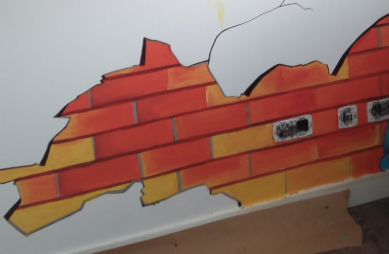 portfolio 30/31  - Mural Infantil Detalle