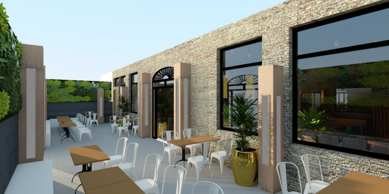 portfolio 15/19  - Bar restaurante en Sevilla