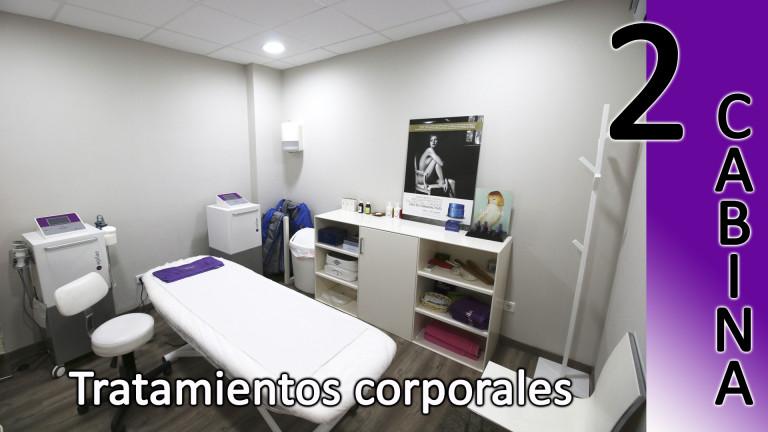 portfolio 7/8  - Cabina tratamientos corporales