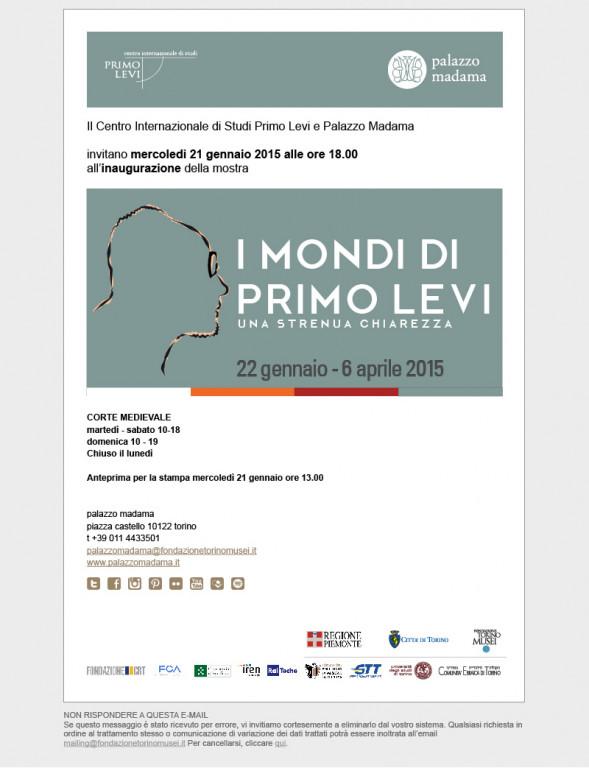portfolio 38/91  - Museal - Primo Levi Exhibition