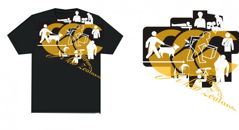 portfolio 25/91  - Canterbury New Zealand Tshirt