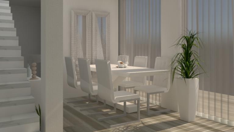 portfolio 1/10  - Render proyecto vivienda