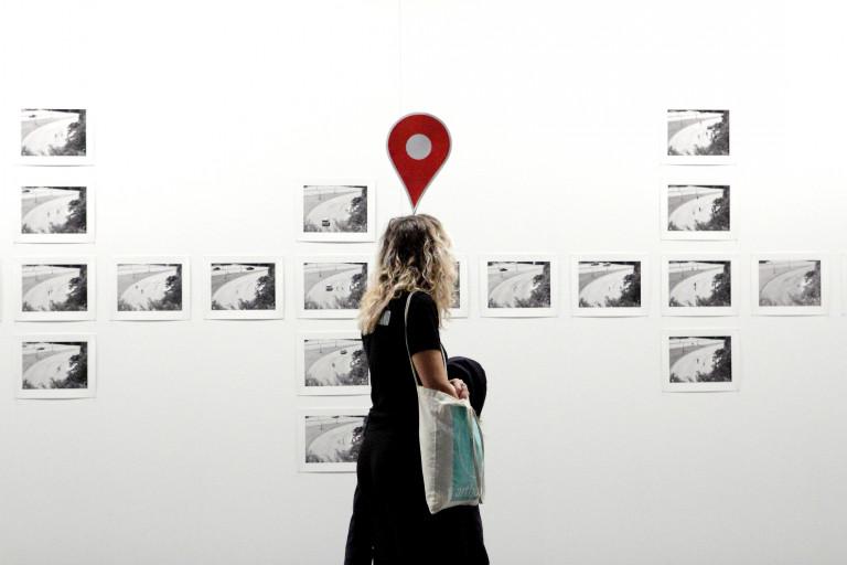 portfolio 17/40  - SOCIAL Protesta en la feria de arte ARCO 2018 ante el escaso número de mujeres artistas expositoras