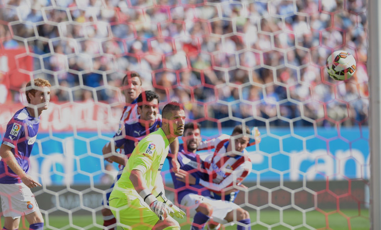 portfolio 8/40  - DEPORTE-FÚTBOL Atleti-Espanyol  19/10/2014