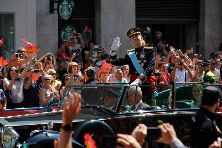 portfolio 30/40  - POLÍTICA. Coronación de Felipe VI