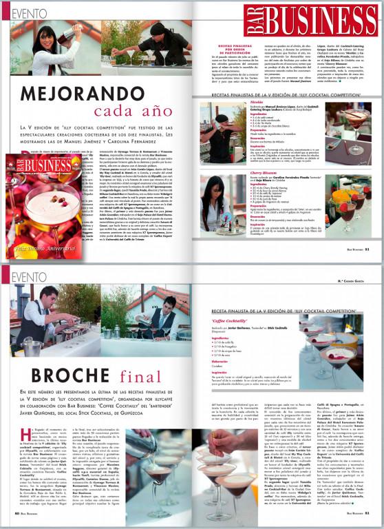 portfolio 7/52  - Bar Business, editorial, Spain, 2014.