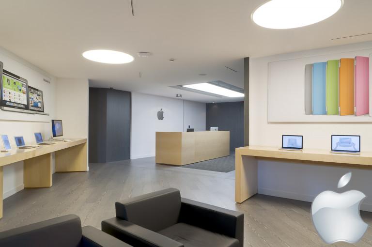 portfolio 18/52  - Apple headquarters, interior, Spain, 2012.
