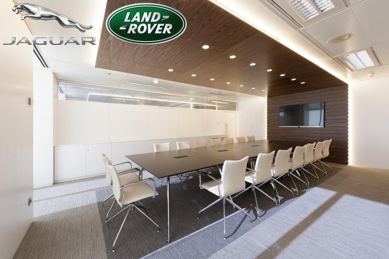 portfolio 25/52  - Jaguar Land Rover, interior, Spain, 2014.