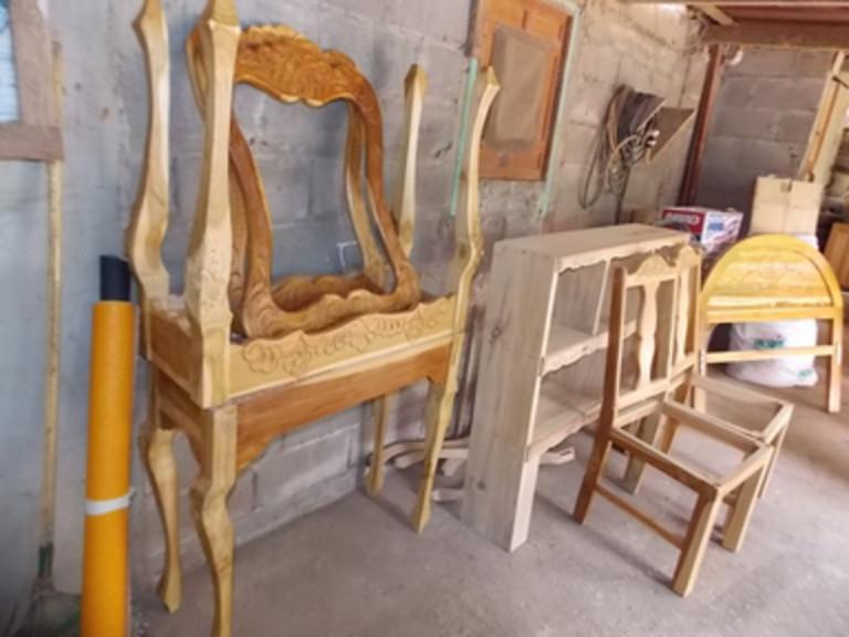 portfolio 5/9  - Trabajos de ebanisteria artesanal