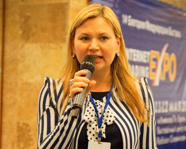 portfolio 3/3  - Dando discurso en el foro internacional financiero en Moscú