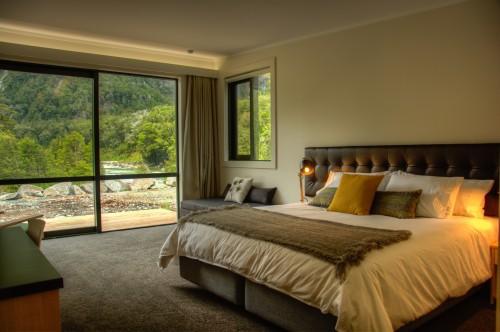 portfolio 9/15  - Habitación puro relax en Milford Sound Lodge, Nueva Zelanda