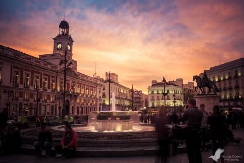 portfolio 10/15  - Puerta del Sol