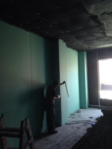 portfolio 11/13  - aislamiento acústico en una sala de calderas