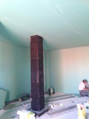 portfolio 13/13  - aislamiento acústico en una sala de calderas