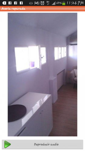 portfolio 31/35  - pintura en siniestros de hogar reparada