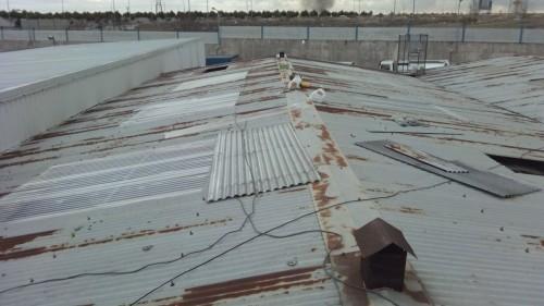 portfolio 16/26  - Instalación de Traga Luces en Naves Industriales de IVECO
