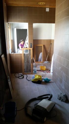 portfolio 236/287  - limpieza después de una obra a fondo
