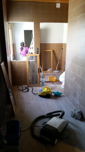 portfolio 228/287  - limpieza después de una obra a fondo