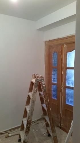 portfolio 153/287  - pintura  en liso en un  piso en Madrid