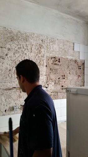 portfolio 169/287  - Reparación de la cocina alicatado