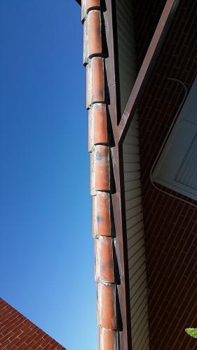 portfolio 200/287  - Reparación de un tejado y mantenimiento de las vigas de metal