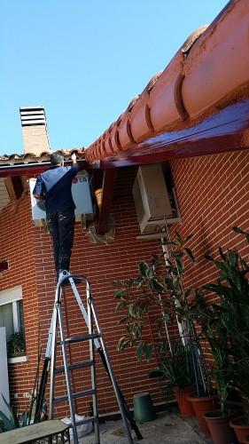 portfolio 212/287  - Reparación de un tejado y mantenimiento de las vigas de metal