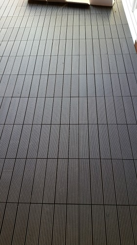 portfolio 220/287  - Colocación de un suelo de una terraza de Banbú
