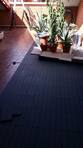 portfolio 222/287  - Colocación de un suelo de una terraza de Banbú