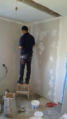 portfolio 266/287  - Reforma de ampliación de una habitación con aislamiento