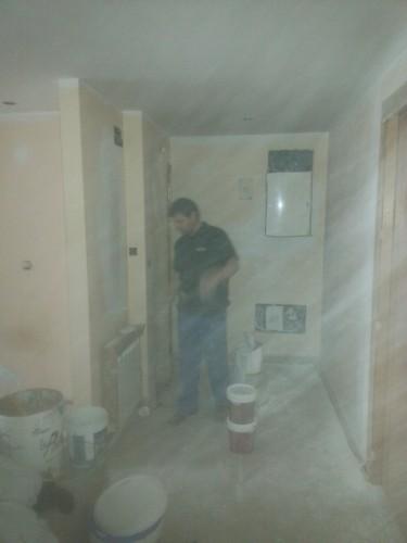 portfolio 138/287  - pintura  en liso en un  piso de  70m2