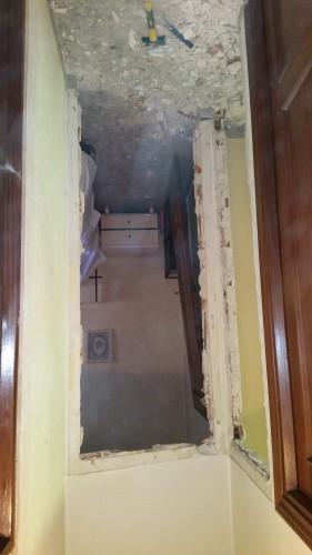portfolio 205/287  - colocación de precercos y puertas de interior en una vivienda