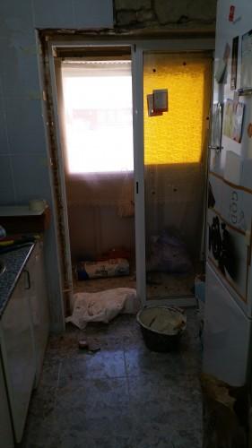 portfolio 213/287  - colocación de precercos y puertas de interior en una vivienda