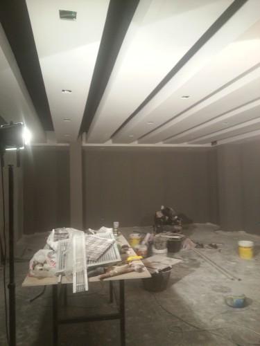 portfolio 119/287  - reforma del techo del pladur  a  doble altura