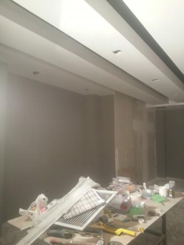 portfolio 121/287  - reforma del techo del pladur  a  doble altura
