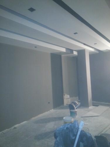 portfolio 122/287  - reforma del techo del pladur  a  doble altura
