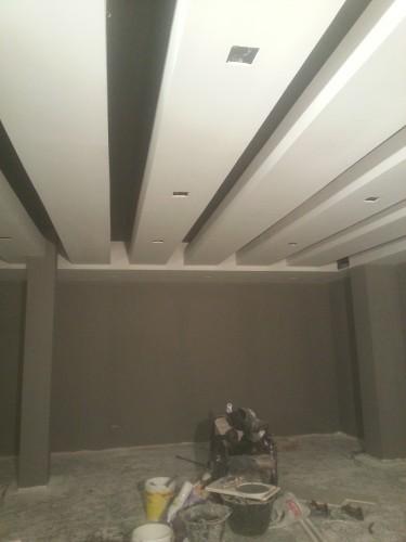 portfolio 123/287  - reforma del techo del pladur  a  doble altura