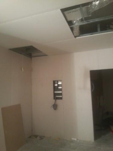 portfolio 124/287  - reforma del techo del pladur  a  doble altura