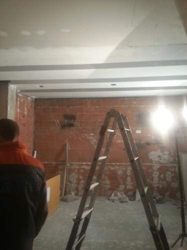 portfolio 125/287  - reforma del techo del pladur  a  doble altura