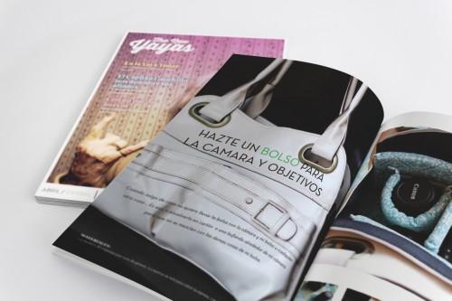 portfolio 10/24  - Revista tuviese un estilo relajado y cercano, haciendo especial hincapié en el uso de un lenguaje sencillo y accesible,