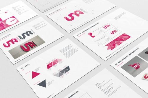 portfolio 14/24  - Identidad Corporativa, UNA Editorial