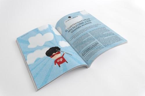 portfolio 6/24  -  Revista dirigida a todos aquellos manitas que, cansados del estilo cursi y ñoño de las típicas revistas de DIY, buscan ideas e inspiración.