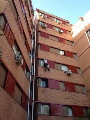 portfolio 6/27  - REHABILITACION DE FACHADA MADRID