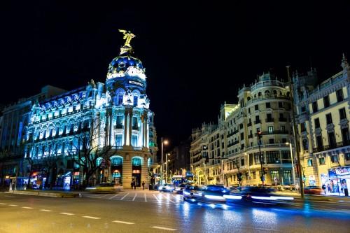 portfolio 22/33  - Madrid de noche