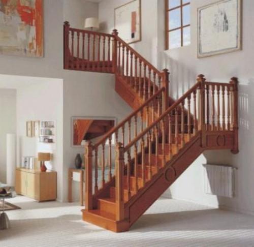 portfolio 3/3  - Escalera de madera de sipo
