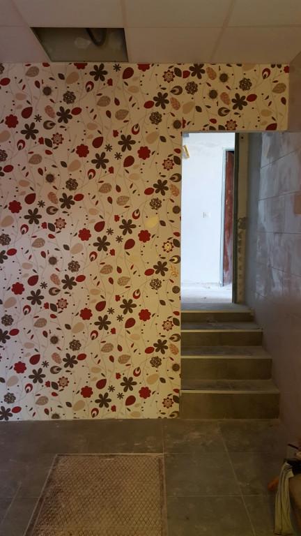 portfolio 25/28  - empapelado de una pared