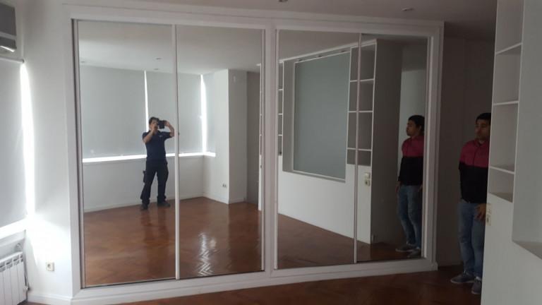 portfolio 10/28  - Reparacion de armario de puertas correderas con espejo